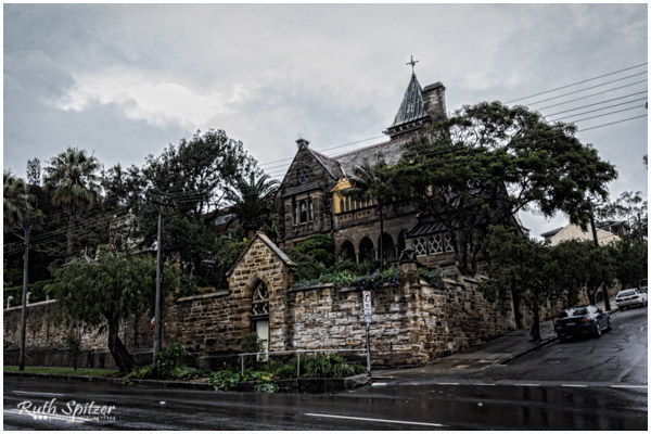 The Abbey Haunted Gothic Mansion Ruth Spitzer