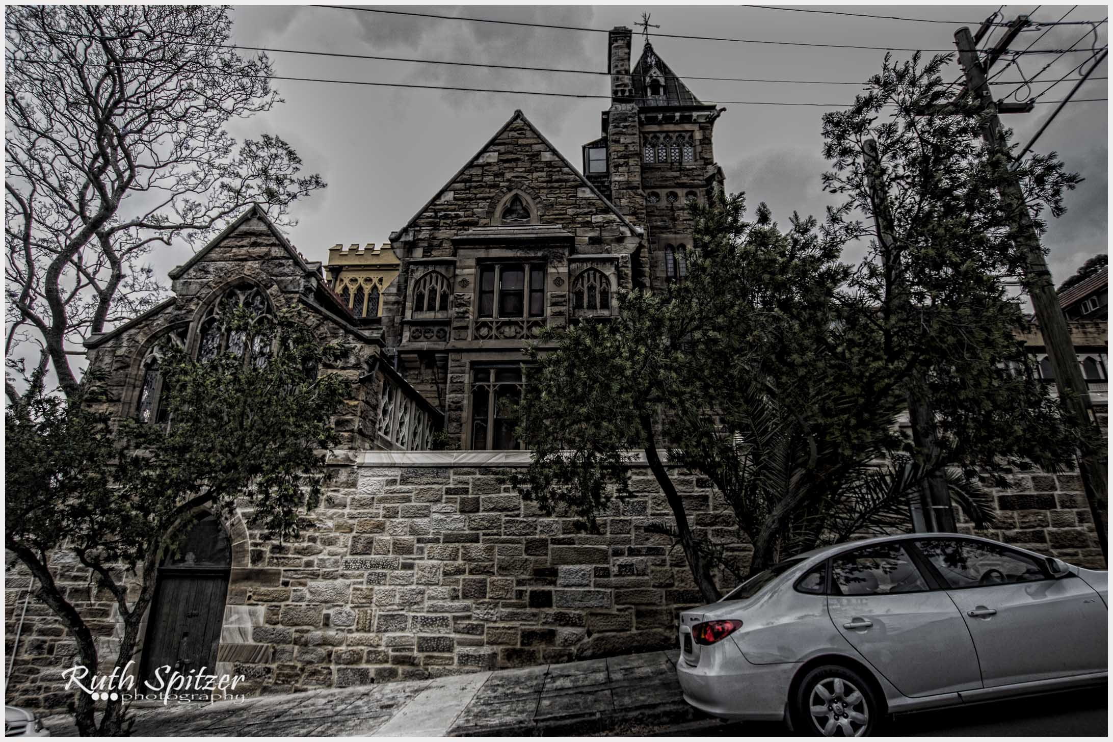 The Abbey Haunted Gothic Mansion