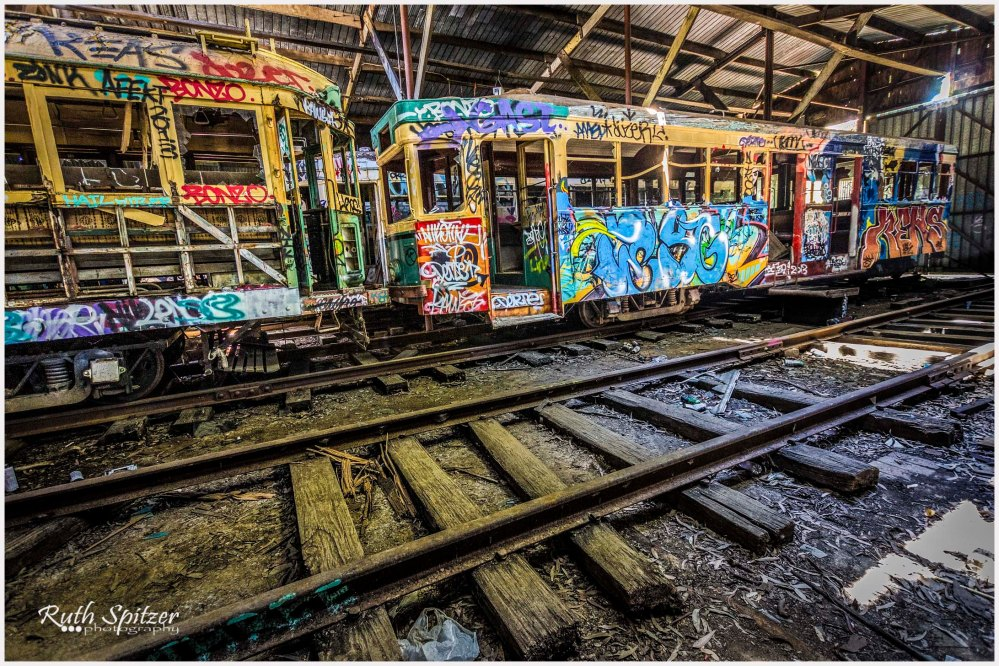 Loftus-Tram-Shed-abandoned