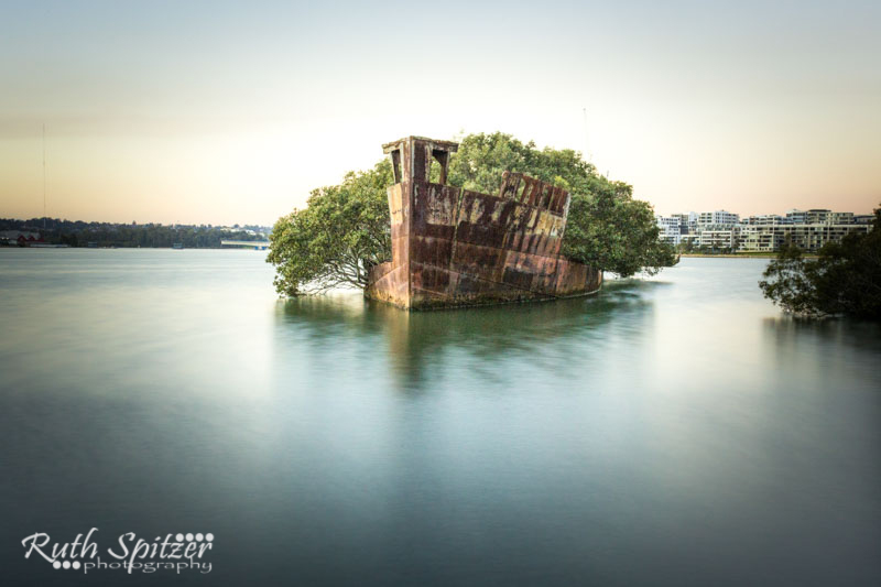 Homebush Bay Shipwrecks Ruth Spitzer SS Ayrfield