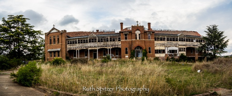 Abandoned St Johns Orphanage in Goulburn. Image by Ruth Spitzer