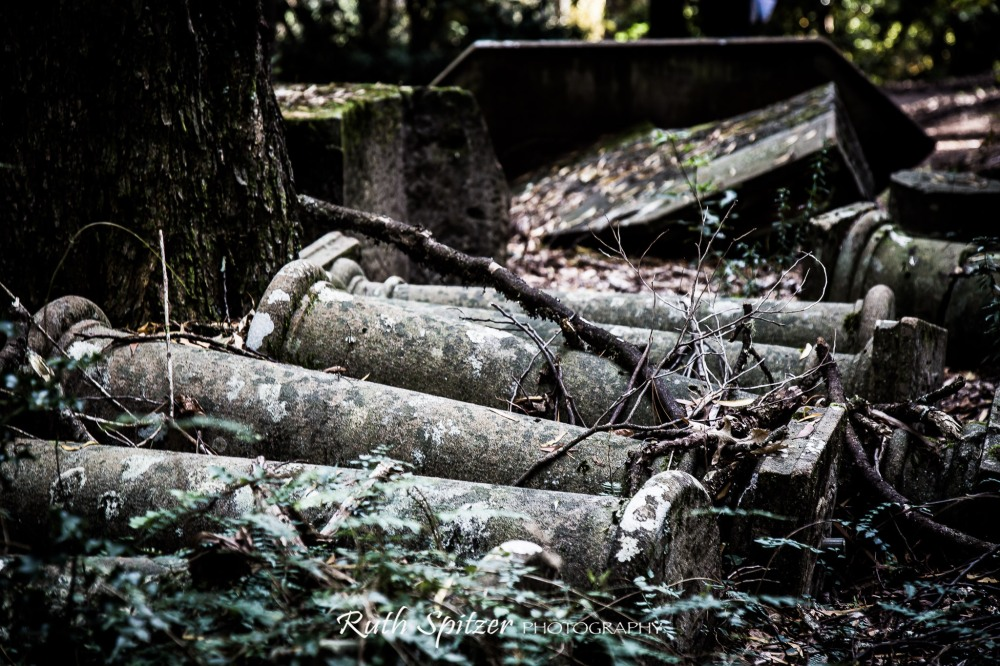 Pillars-in-the-Breenhold-Private-Gardens-Mount-Wilson-NSW