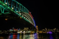 Sydney-Vivid-NSW-2016-Harbour-Bridge
