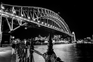 Sydney-Harbour-Bridge-NSW-BlackandWhite